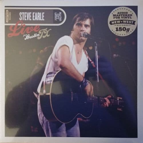 Steve Earle<br>Live From Austin TX<br>2LP, RE, 180g